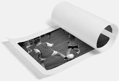 Black & White Loose Canvas Print