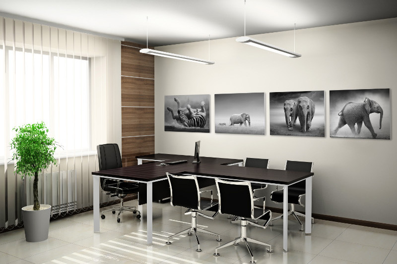 Stretched Canvas Prints Office Wall