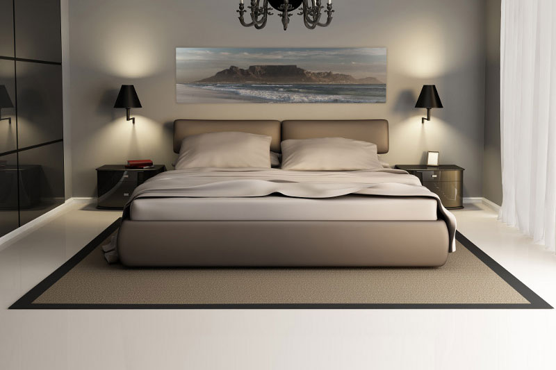 Stretched Canvas Bed
