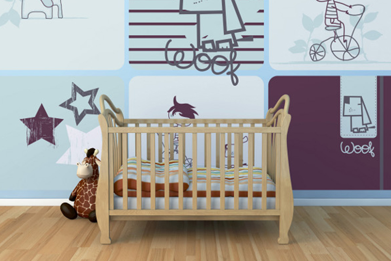 Custom Wallaper Baby Room