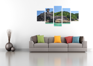 Split Panel Replacement image for wallpaper in PrintCanvas Home Page